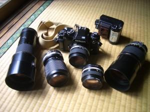 Nikonのレンズ達